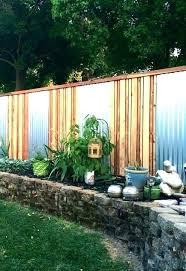 corrugated metal fence cost ipcri me