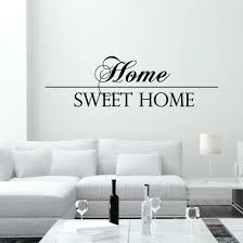 Shop Wall Decal Quotes Home Sweet Home Vinyl Decals Living Stickers Home Decor Overstock 11179316