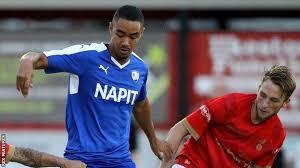 Byron Harrison: Stevenage sign Chesterfield striker - BBC Sport