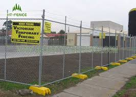 Green Powder Coated Temporary Chain Link Fence Anti Climb For Sporting Events