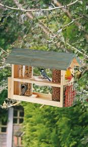 wooden bird feeder station market town