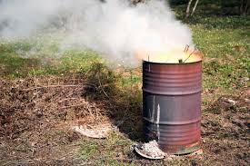 how to make a burn barrel blain s