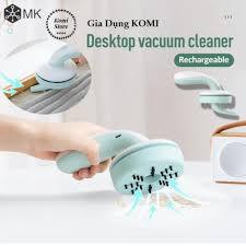 FREE SHIP Máy hút bụi cầm tay mini sạc pin không dây để vệ sinh cho bàn làm  việc phím laptop máy tính pc giảm chỉ còn 200,000 đ