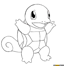 Pokemon Coloring Pages Squirtle Kleurplaten Pikachu Pokemon