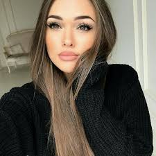 what color makeup with black dress