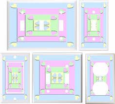 Pastel Hearts Girls Room Children Decor Light Switch Cover Plate Or Outlet V813 Ebay