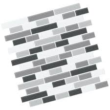 l stick backsplash tiles black