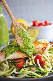 Grilled Halibut With Pesto - Nourish ...