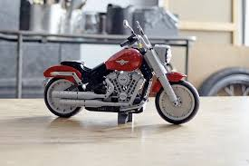 lego s harley davidson fat boy is as