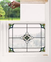 Stained Glass Window Appliques Or Decal Sets Ltd Commodities