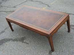 nice vintage weiman mahogany leather