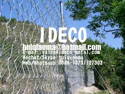 Rockfall Catch Ring Net Panels 1570mpa High Tensile Steel Wire Ring Nets Barriers 5000kj Rockslide Protection Fences