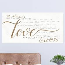 Winston Porter Love Never Fails Personalized Wall Decal Wayfair