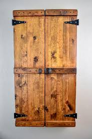the ultimate diy rustic jewelry cabinet