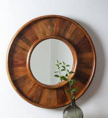 wall mirror décor decorative wooden