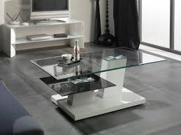 modern glass coffee tables trendy