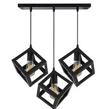 urban retro chandelier cube hanging