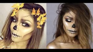easy skull halloween using only