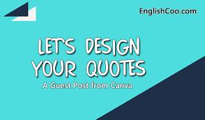 tips mendesain quotes bahasa inggris sendiri untuk pemula