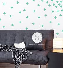 Traditional Mini Swiss Cross Wall Decals Designeee
