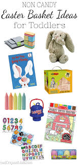 non candy easter basket ideas for