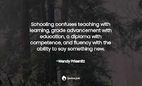 2 Wendy Priesnitz Quotes on Education - Quotes.pub