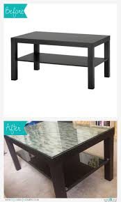 glass coffee tables commonly found in