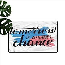 com homedd entrance doormat quotes tomorrow is another