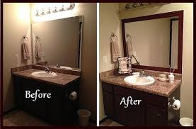 adhesive frame for bathroom mirrors