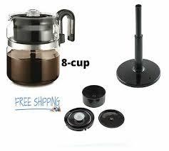 stovetop percolator coffee pot glass