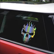 Exterior Accessories Skull Candy Automotive Decal Bumper Sticker Bumper Stickers Decals Magnets