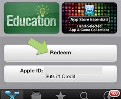 redeem code check app balance