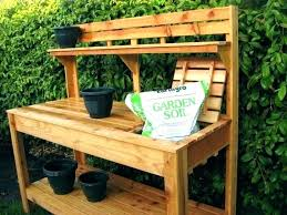 garden work bench myrtisfullington co