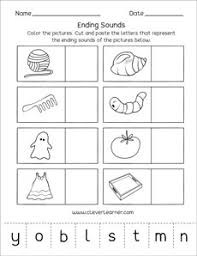 ending sounds worksheets and printables