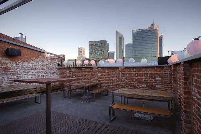 Connections Perth rooftop bar