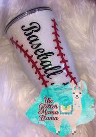 Baseball Mom Glitter Tumbler Sold By The Glitter Mama Llama On Storenvy