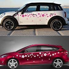 Romanti Cherry Blossom Car Vinyl Whole Body Graphic Decal Sticker Styling Universal Wish