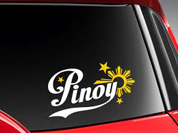 Pinoy Philippines Vinyl Car Decal Sticker 7 5 Width With Etsy