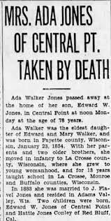 Obituary for Ada Walker JONES (Aged 78) - Newspapers.com