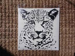 Leopard Head Vinyl Decal Sticker Easyvinyls