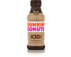 espresso iced coffee dunkin anytime