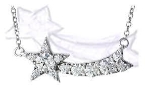 the illa comet pendant necklace this