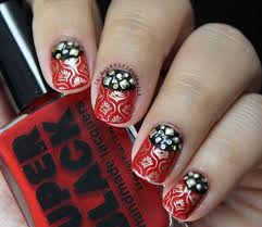 black nail arts to match with any outfit