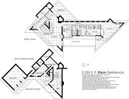 floor plan the elam house