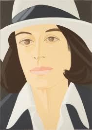Alex Katz - Alex and Ada the 1960s to the 1980s: Ada in a White ...