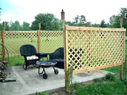 Backyard Privacy Fence Ideas Best Patio Inexpensive Outdoor Trellis Home Elements And Style Wall Hedge Screen Landscape Unique Crismatec Com