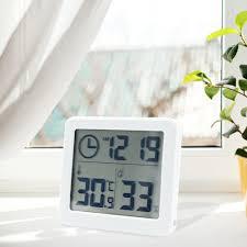 Mini Alarm Clock Desktop Table Bedside Clock For Home Kids Bedroom Office 02 Home Garden Alarm Clocks Clock Radios