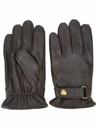 polo ralph lauren leather gloves mens