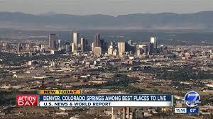 Denver ranked No. 2 on U.S. News ...