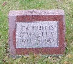 Ida Roberts O'Malley (1889-1962) - Find A Grave Memorial